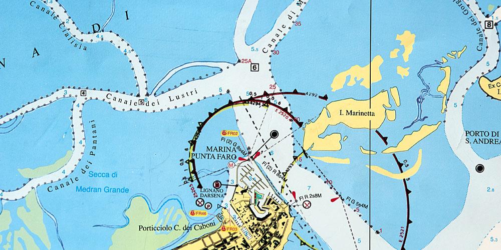 Italien Obere Adria Karte.Tornbericht Italien Durch Das Reich Der Lagunen Nach