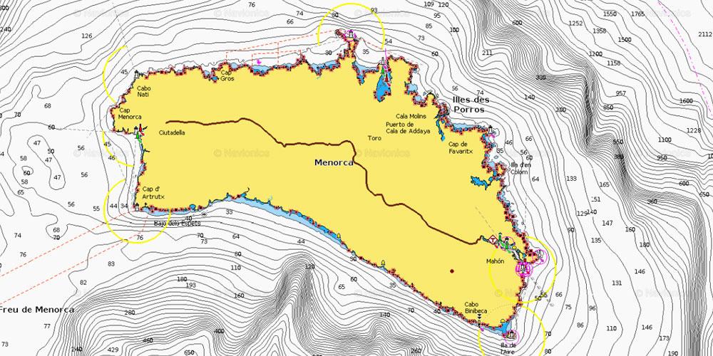 Insel Menorca Karte.Tornbericht Ruhig Und Relaxed Rund Menorca Segeln