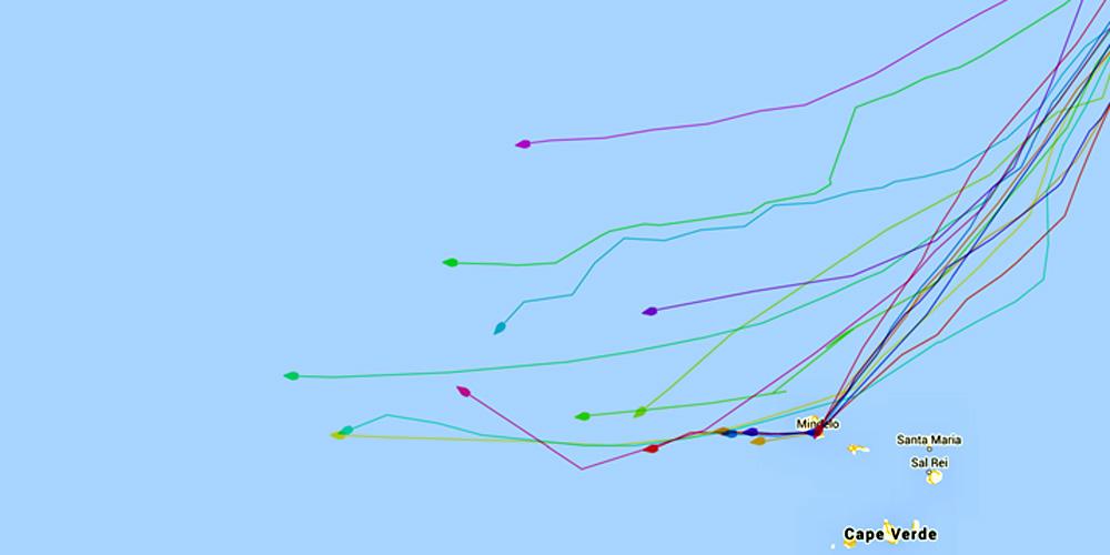 Teneriffa Karte Europa.Atlantikuberquerung Die Richtige Strategie Blauwasser De