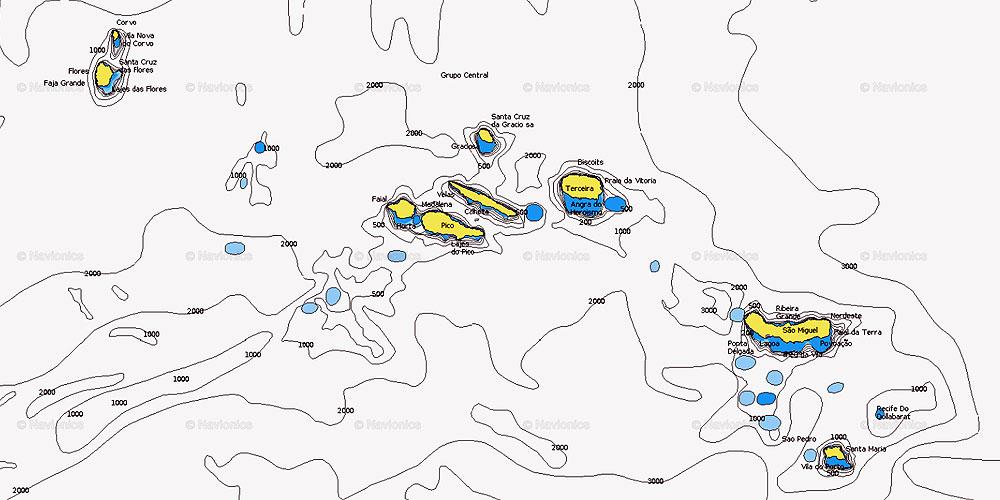 Azoren Karte.Törnbericht Segeln Auf Den Azoren Blauwasser De
