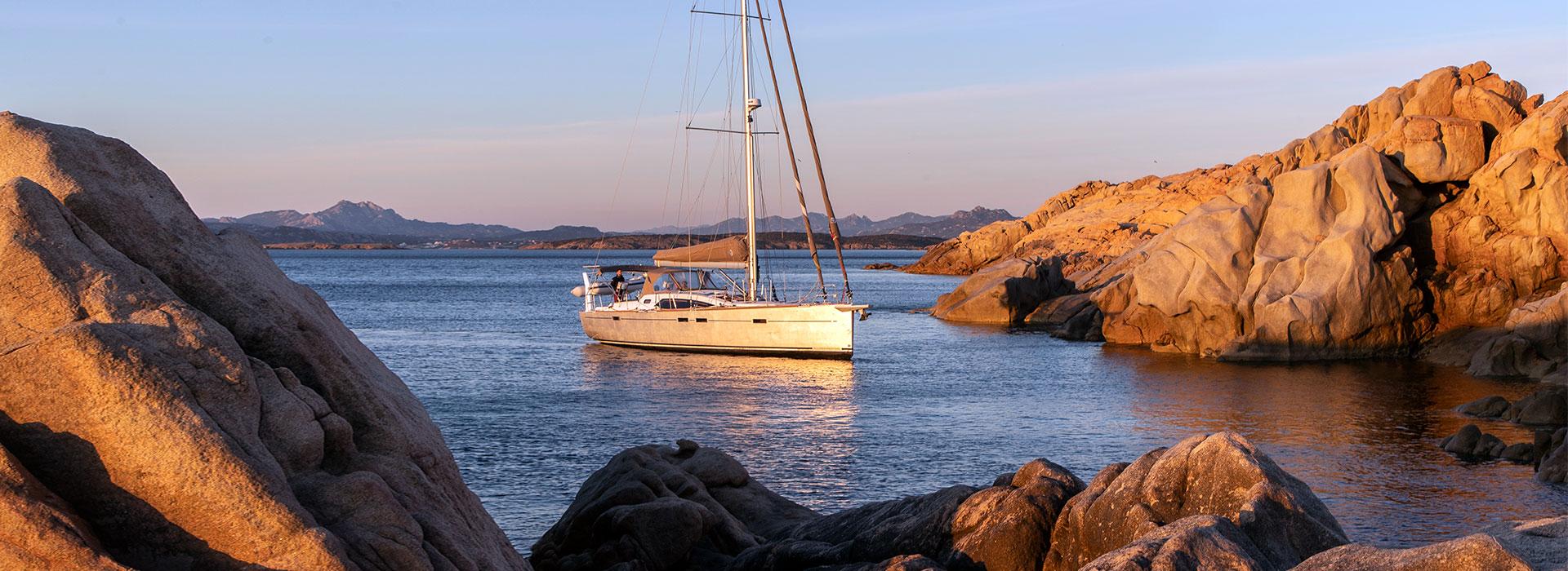 Bootsbau Aluminium als Rumpfmaterial für Segelyachten.