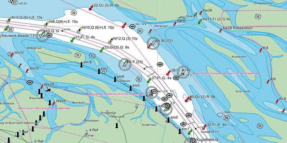 Anleitung: Update elektronischer Seekarten auf einem Kartenplotter on
